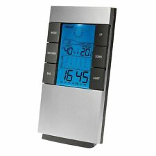 Estacion Meteorologica Reloj Despertador Termometro LED Humedad Luz LED clima
