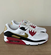 NIKE AIR MAX 90 TOYKO OLYMPICS 2020 WHITE BLACK TRAINERS SIZE UK8, US9, EUR42.5