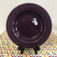 Fiestaware Mulberry Rimmed Soup Bowl Fiesta Purple Bowl