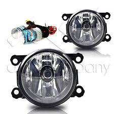 12-14 Impreza 15-16 WRX Fog Lights w/Wiring Kit & HID Conversion Kit - Clear