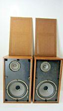 Scott S-17 Speakers Loudspeakers Wooden Cabinet Vintage