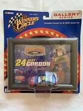 Jeff Gordon 2001 Champion Gallery Series Framed Art & 1:64 Die Cast Car