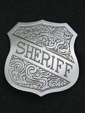 Badges SHERIFF SHIELD 5 cm  Western Cowboy Stern Old West Accessoires