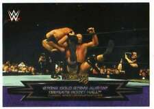 2015 Topps WWE Road to Wrestlemania Classic Matches #14 Steve Austin Scott Hall