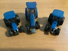 3 BRITAINS NEW HOLLAND TRACTORS VERY GOOD CONDITION