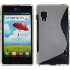 Silikon Hülle für LG Optimus L5 II clear S-Style Cover