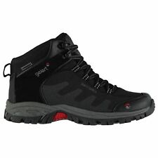 Gelert Mens Softshell Mid Walking Boots Lace Up Breathable Waterproof