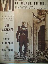 MAGAZINE VU N° 404 REPORTAGES CINEMA WELLES ELECTION LEGISLATIVE MONA GOYA1935