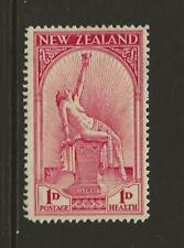 1932 New Zealand SG552 1d + 1d Hygeia Health Stamp Fine MINT Cat £25