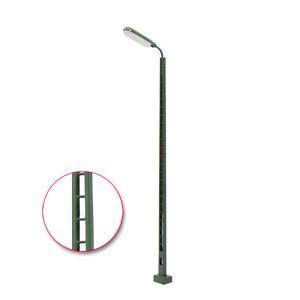 LQS52HO 3pcs Model Railway Station HO Scale 1:87 Light Lattice Mast Track Lamp