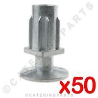 Foot Plug Bung 12 x L50mm x W50mm Table Leg Insert