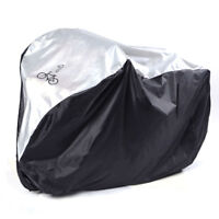 Waterproof Nylon Bicycle Cycle Bike Cover Outdoor Rain UV Protector for 1 Bike