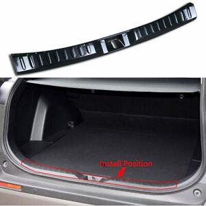 Carbon Fiber Rear Bumper Guard Sill Cover Trim For Toyota RAV4 19-20 Accessories