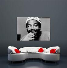 Legenda Cantante Musica MOTOWN Marvin Gaye Poster Artistico Gigante stampa wa428