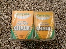 11 boxes of Crayola Anti-Dust White Chalk - 12 ct boxes (Item #1402)
