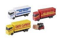DIE CASTE METAL LOAD & GO CARGO LOGISTICS FREIGHT TRUCK WITH LOADER TOY FOR KIDS