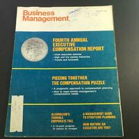 VTG Business Management Magazine January 1969 - Executive Compensation Report