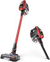 MOOSOO K24 Cordless Vacuum 4 in1 Handheld Cleaner 300W 24Kpa For Pet Hair Home