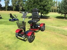 SINGLE SEAT GOLF BUGGY ELECTRIC RED 2018 MODEL NEW