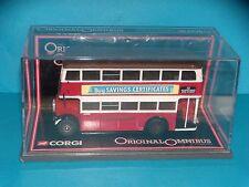 CORGI - LEYLAND  UTILITY BUS LONDON TRANSPORT - 1/76  - LIMITED EDITION