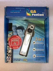 Vintage Aiptek VGA 3-in-1 PenCam Digital+Video Conferencing Camera+Camcorder New