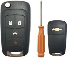 Carcasa plegable de repuesto para llave de entrada sin llave, compatible con