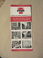 Pennsylvania Railroad - Time Table - April 24, 1966 - Form 2