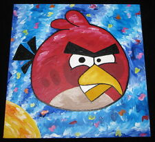 STEFANIE,ANGRY BIRDS SUITE,SIGNED,ORIGINAL,ANGRY BIRDS MOVIE,STEVE KAUFMAN PIC!