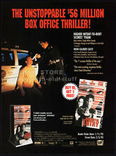 UNLAWFUL ENTRY__Orig. 1992 Trade print AD movie promo__KURT RUSSELL__RAY LIOTTA