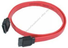 "Lot50 19.6""/20""Serial ATA/SATA internal HD/CD/DVD/DVDRW Cable/Cord 150mbs{RED"