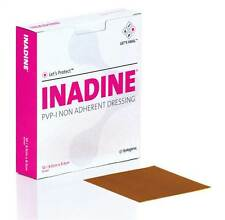 Inadine Iodine Non-Adherent Dressings 9.5cm x 9.5cm (Box of 10)