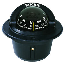 Ritchie Explorer Marine Boat Compass Flush Mount F-50