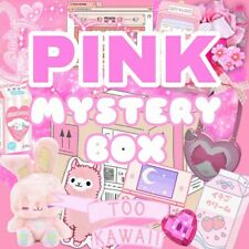 PINK Kawaii SURPRISE BOX 10 Cute Items Fancy Pastel Aesthetic Gifts + Plushies !