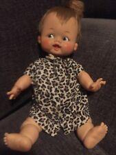 "14"" Vintage 1964 Ideal Pebbles Flintstone Baby Doll w/ original clothes & BONUS"