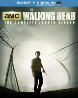 The Walking Dead: Season 4 (Blu-ray 5-Disc Set, with Slipcover) FREE SHIPPING