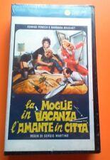 Film La moglie in vacanza... l'amante in città (1980) VHS Nuovo RARO