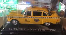 "DIE CAST "" CHECKER NEW YORK - 1980 "" 1/43 TAXI SCALA 1/43"