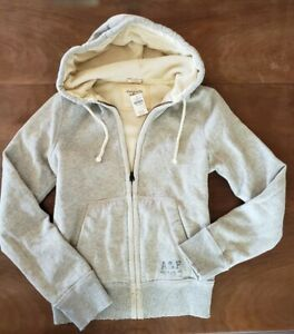 NWT • Abercrombie and Fitch • Hoodie with Full Thermal Lining • $160