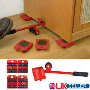 Heavy Furniture Shifter Lifter Set Wheel Moving Slider Mover Table Sofa Removal