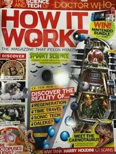 MAGAZINE of Doctor Who Dalek in HOW IT WORKS  rare