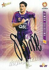 ✺Signed✺ 2007 2008 PERTH GLORY A-League Card SIMON COLOSIMO