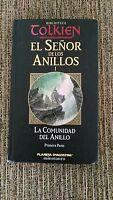 EL SEÑOR DE LOS ANILLOS - J.R.R.TOLKIEN - LA CUMUNIDAD DEL ANILLO TAPA DURA