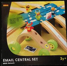 """Brio Holzeisenbahn """"Email Central Set"""" (33281) unbenutzt! Riesenpaket!"""