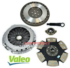 VALEO-FXR STAGE 4 CLUTCH KIT+ 9 LBS LIGHT FLYWHEEL fits HYUNDAI ELANTRA TIBURON