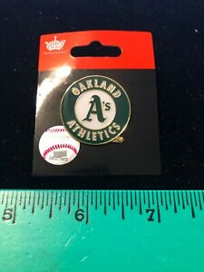 NEW 2020 ISSUE Oakland Athletics A's LOGO Lapel Pin - MLB Licensed - Pin Back