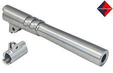 """1911 Barrel 10mm Gov 5"""" Inch , Standard Non-Ramped, Match Grade Bull Barrel"""