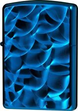 New ZIPPO Lighter Titanium Coating ROL Blue Oil Lighter 62TIBL-ROL ARMOR