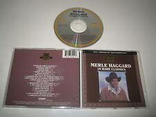 MERLE HAGGARD/18 RARE CLASSICS(CURB/D2-77490)CD ALBUM