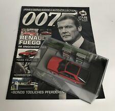 Renault Fuego James Bond 007 Modellauto Collection 1:43 No. 86
