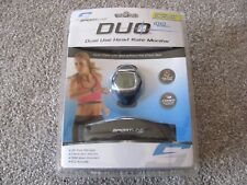 New Sportline Women's Duo 1010 Dual Use Heart Rate Monitor – Blue (SP1966BL)